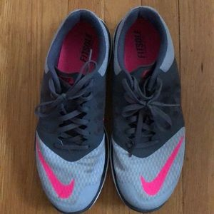 Women's Gray Nike FS Lite Run 3 Size 9